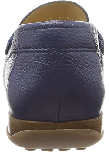Geox Euro D, Mocassins Femme Blue (Dark Royal)