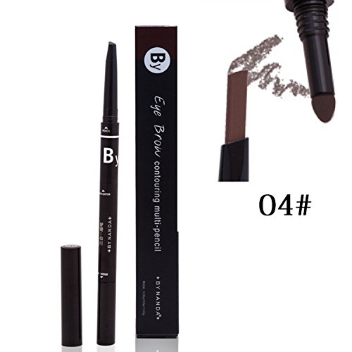 OYOTRIC 3 in 1 Eyebrow Makeup Set - Eyebrow Pencil & Eyebrow Powder & Eyebrow Cream with Brush - Long-Time Proof Water(A04)