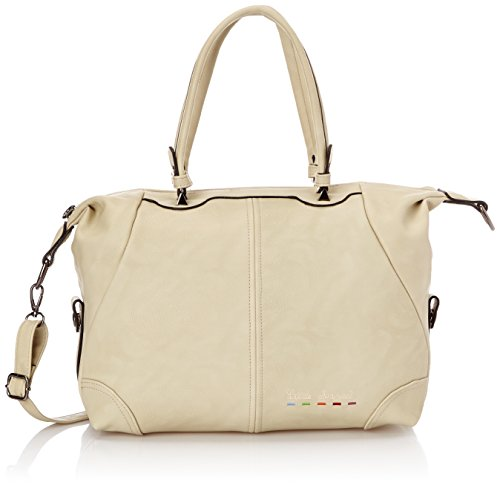 Little Marcel City Cloche, Sac bowling - Beige, Taille Unique