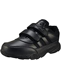 Action Shoes Boy's Synthetic Leather Synergy School Lightweight and Durable Shoes