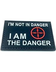 I Am The Danger Noir PVC Airsoft Patch