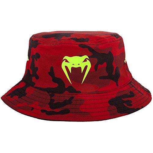 Venum Atmo Bucket Hat Hat, Rot-Tarnen, L/XL