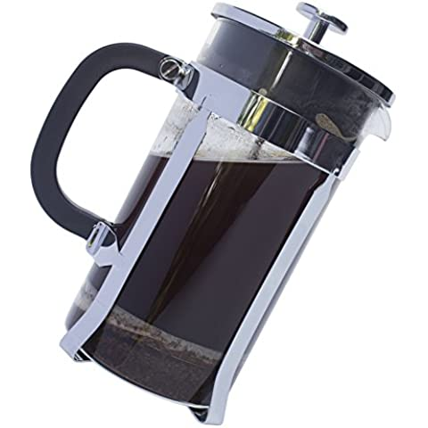 Garanzia illimitata Pyora-French Press Coffee and Tea Espresso Maker 34, oz, 8 tazze per caffè, con filtro a pressa in acciaio INOX, EBOOK