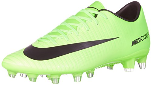 Nike Mercurial Victory VI AG-Pro Chaussures de Football Entrainement Homme, Vert (Electric Green/Black-Flash Lime-White) 42.5 EU