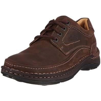 Clarks Nature Three, men shoes, Brown (Ebony Oily), 6 UK (39.5 EU)