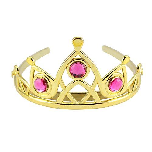 Das beste Tiara für Mädchen Abschlussbälle Festzüge Princess Party Krone (Girl Kostüm Baby Hit)