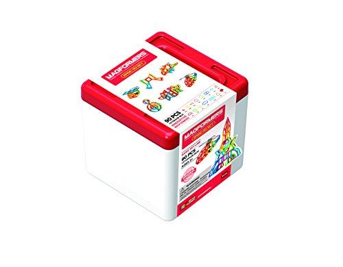 Magformers 701014 - Juego de 90 Piezas magnéticas con Caja de Almacenamiento