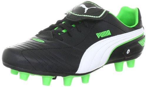 Puma Herren Esito Finale i FG Sportschuhe-Fußball, Schwarz (Black-White-Fluro Green 06) 40.5 EU