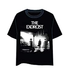 LAST LEVEL Camiseta el Exorcista Portada XL Camisa Cami, Multicolor, Adultos Unisex