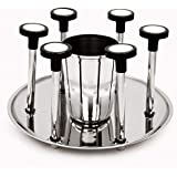 Supreme Glass Stand Stainless Steel