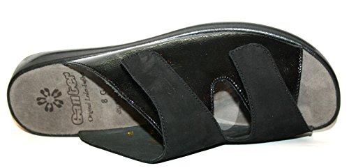 Ganter - Scarpe con plateau Donna Nero (nero)