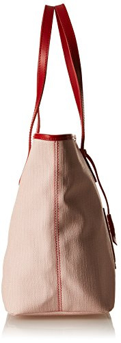 Timberland Tb0m5152, Borsa a mano Donna, 16.5x27.5x45.5 cm Rosso (Red)