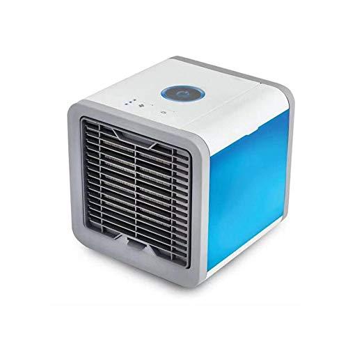 0 ℃ Outdoor 3 in 1 Air Lufterfrischer mobiler Luftkühler mit USB Anschluß oder Netzstecker,3 Kühlstufen,7 Stimmungslichter für Büro Zuhause Camping