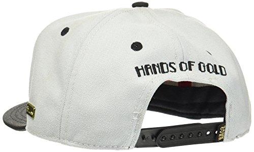 Hands of Gold Herren Ol' School Cap HG014 grey/Black/Mc