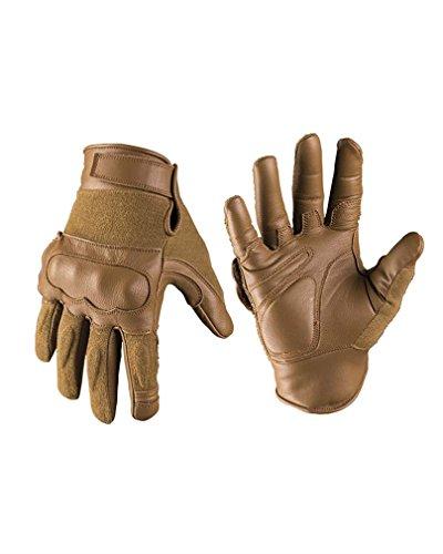 Tactical Gloves Leder/Kevlar® dark coyote Gr.L (Leder Coyote)