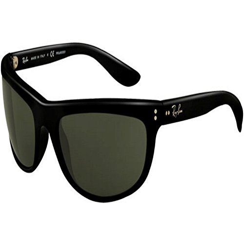mens-rayban-balorama-polarized-sunglasses-black-grey-polarized-one-size