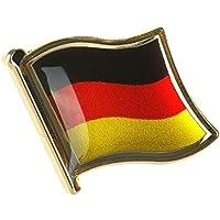 CoolChange Anstecker Deutschlandfahne aus Metall