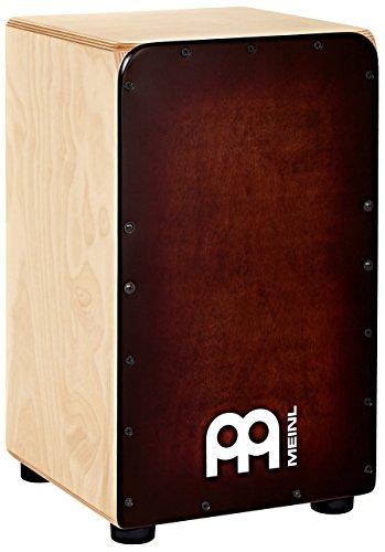 Meinl Percussion WC100EB - Cajón de madera de abedul báltico con cuerdas interiores de acero microestriado para cajón, color marrón