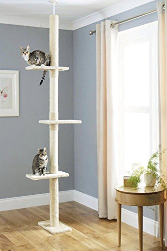 Floor to Ceiling Cat Tree Cat Scratch Post