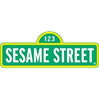Sesame Street Sign ~ Edible Image Cake, Cupcake Topper!!! by A Birthday Place - Sesame Street Topper