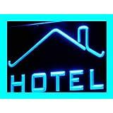Enseigne Lumineuse i247-b HOTEL OPEN Restaurant Room Lure Neon Light Sign