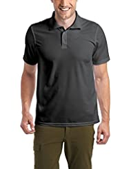 Maier Sports Herren Polo 1/2 Arm T-shirt,