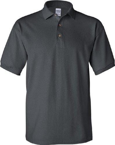 Gildan Ultra Herren Piqué Polo-Shirt, Kurzarm Waldgrün