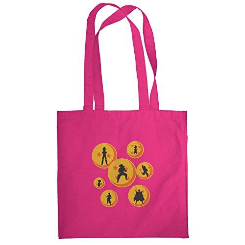 Texlab–The Balls–sacchetto di stoffa Pink