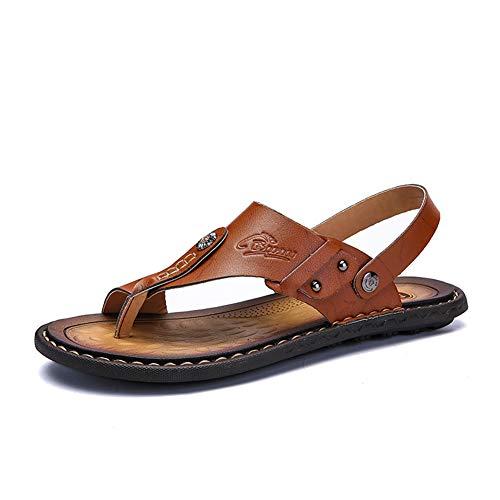 Hombres Chancletas Clip Toe Casual Flats Verano cómodo