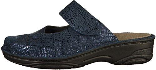 Donne 03457 Berkemann Heliane Pantofola Blu q6ppZw