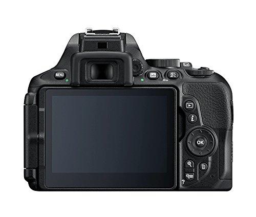 Nikon D5600 (8,1 cm (3,2 Zoll), 24,2 Megapixel) Gehäuse schwarz -