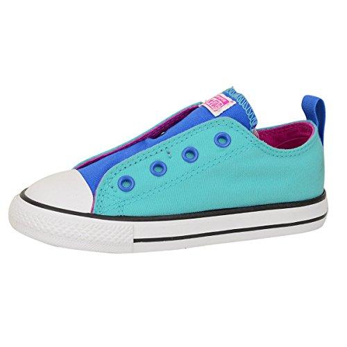 Converse Simple Slip Kinder Schuhe Blau Türkis - 24 Converse Kids All Star Slip