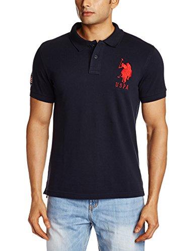 U.S.Polo.Assn. Men's T-Shirt (8907259663968_USTS2503_Large_Navy)