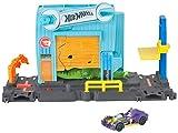 Hot Wheels Garage dell'Alligatore Pista per Macchinine a Tema Città, Connettibile con Altre Piste, Stimola Immaginazione e creatività, Gioco per Bambini di 3 + Anni, FNB06
