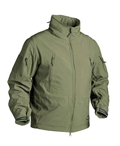 Helikon Gunfighter Shark Skin Softshell Tactical Jacke Sicherheit Army Military Mehrfarbig - Schwarz