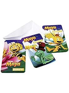 Amscan-552358-6tarjetas de invitación y sobres la abeja Maya