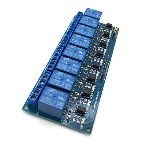 AptoFun 8 Kanaele Relais-Board-Modul für Arduino Raspberry Pi ARM AVR DSP PIC