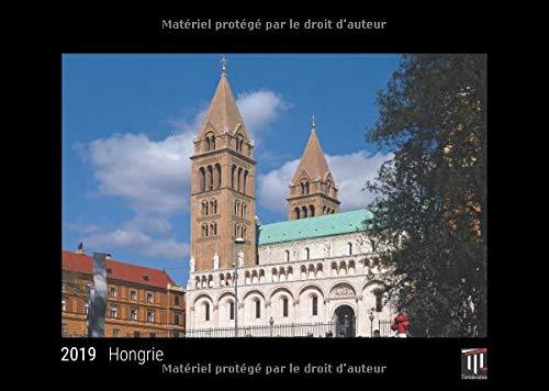 Hongrie 2019 édition noire calendrier mural timokrates calendrier photo calendri