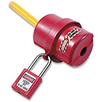 Masterlock S487 - M/bloqueo candado a cabo la tapa del conector eléctrico