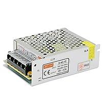 HAILI Switch Power Supply Driver AC 110/220V to DC12V 3.2A 40W Transformer for CCTV Camera, Security System, LED Strip Light