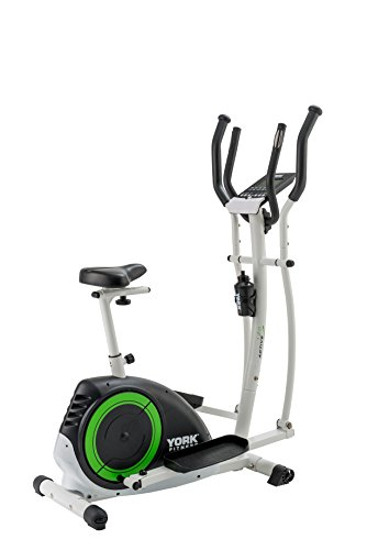 41qsKPVaoEL - York Fitness Active 120 2-in-1 Cycle Cross Trainer - Black