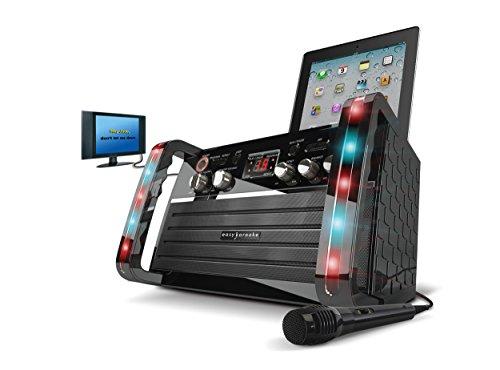 Price comparison product image EKS213 CDG Karaoke Player With LED Lighting Effect and Tablet Cradle