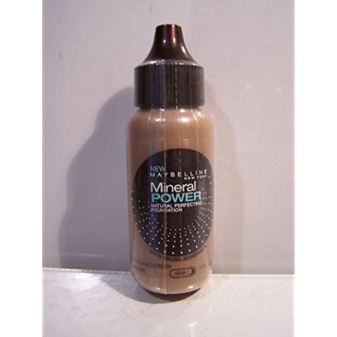 Maybelline Mineral Power Natural Perfecting Foundation 1 Oz. by (Maybelline Mineral Foundation)