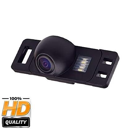 Rckfahrkamera-wasserdicht-Nachtsicht-Auto-Rckansicht-Kamera-Einparkhilfe-Kennzeichenleuchte-Schwarz-fr-Citroen-C4-Nissan-SunnyQashqaiX-TrailGenissPathfinder-DualisNavaraJuke-MG3