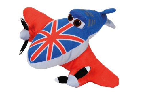 isney Planes Plüsch, Bulldog, 25 cm (Bulldog Plüsch)