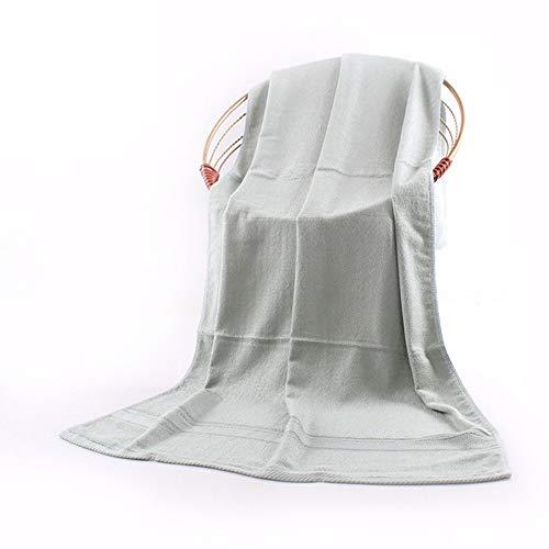JIALU Einfache Bambus - Handtuch, Mitarbeiter des Geschenk 70 *, 140 cm, Handtuch, Handtuch Hat weiße,olivgrün
