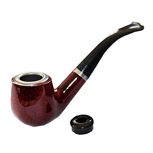 GJF GJY Pfeife Wok Rohr Tabakpfeife - gebogenes trockenes Rohr - Yankee Rauch Topf Dual-Use - Kann gereinigt Werden,A,Länge: 13.7