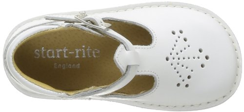 Start Rite Mini Lottie, Sandales fille Blanc (White)