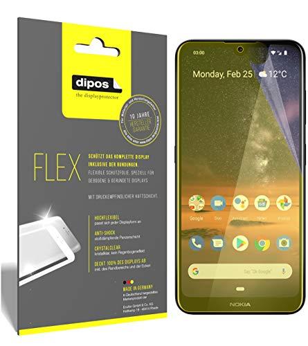 dipos I 3X Pellicola Protettiva per Nokia 3.2 Pellicola di Protezione I 3D Full Cover