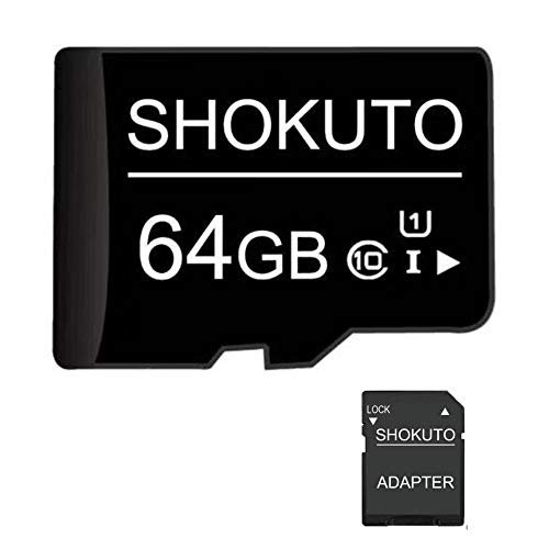 Tarjeta SD, 64 GB, tarjeta memoria micro SDHC tarjeta